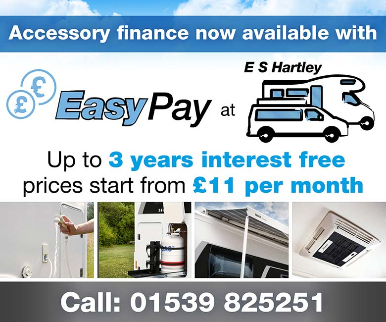 Motorhome Accessories at E S Hartley