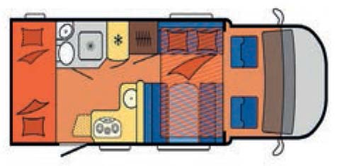 Family - 6 Berth