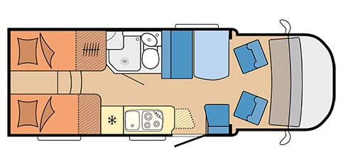 Small - 3 Berth