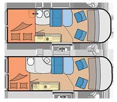 Van - 2 Berth